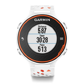 GPS-навигатор Garmin Forerunner 620 Orng/White, HRM-Run, Russia (010-01128-55)