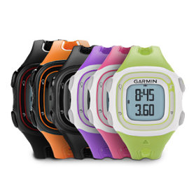GPS-навигатор Garmin Forerunner 10 Black and Silver, GPS, EU (010-01039-20)