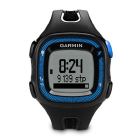 GPS-навигатор Garmin Forerunner 15 Black/Blue, HRM1 (010-01241-50)