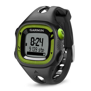 GPS-навигатор Garmin Forerunner 15 Black/Green, HRM1 (010-01241-70)