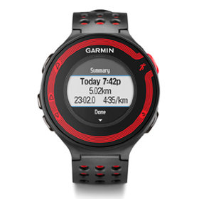 GPS-навигатор Garmin Forerunner 220 Black/Red HRM (010-01147-10)